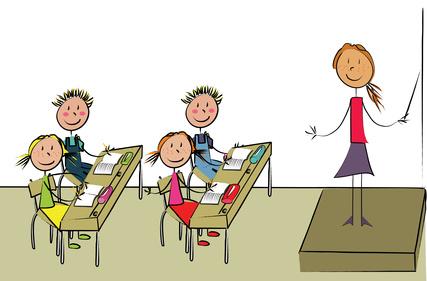schulklasse im unterricht clipart daredevzcom